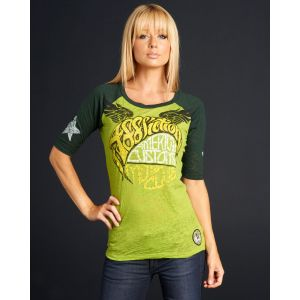 Affliction Damen T-Shirt ?ACMC Love? AW4682