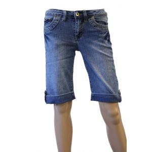 Denim Min Jeans-Bermuda