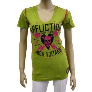 Affliction Damen T-Shirt ?High Voltage? AW5274