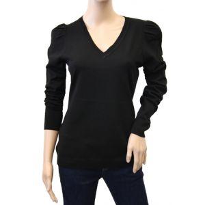 Monari Damen Pullover V-Ausschnitt 899721