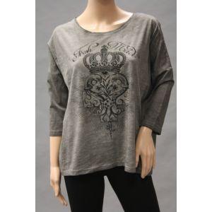Fresh Made Damen Shirt mit Druck 3/4 Arm D1923A00625A